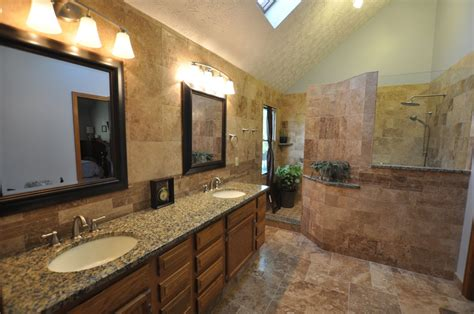 Amazing Of Excellent Bathroom Designs With Stone Showers #2129