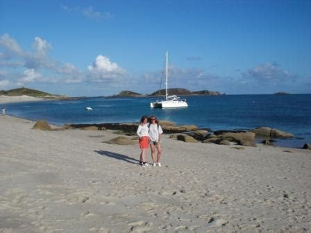 Catamaran Sailing Tuition by Claire And Binna St Martins Catamaran Training Multihull