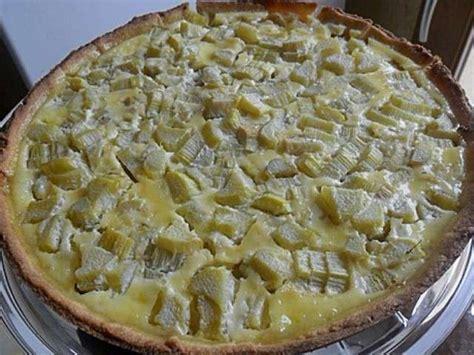 les meilleures recettes de tarte 224 la rhubarbe et p 226 te sabl 233 e