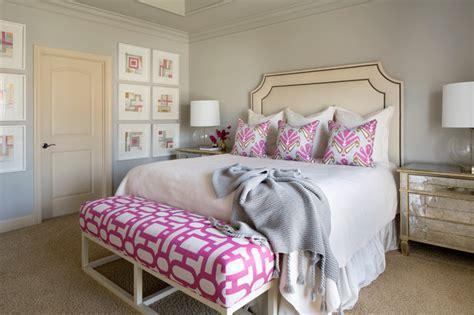 Sophisticated Feminine Master Bedroom-transitional