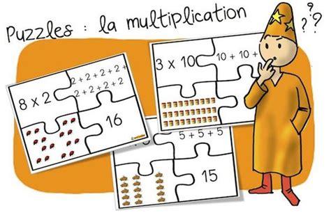 jeu puzzles des multiplications additions r 233 it 233 r 233 es math 233 matiques multiplication et puzzles