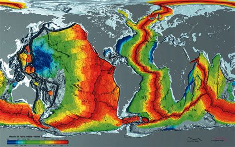 earth science interactive plate tectonics animations and maps