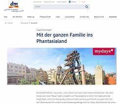 Amazon Gutschein Bei Dm : phantasialand familienausflug gewinnspiel bei dm gewinnspiele 2018 ~ Markanthonyermac.com Haus und Dekorationen