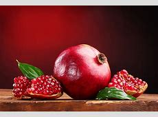 Wallpapers Red Pomegranate Food 5182x3456