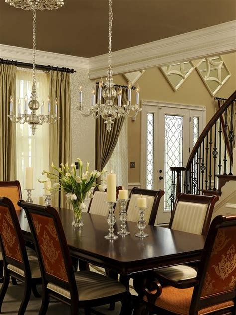 traditional dining room table centerpieces home interior design