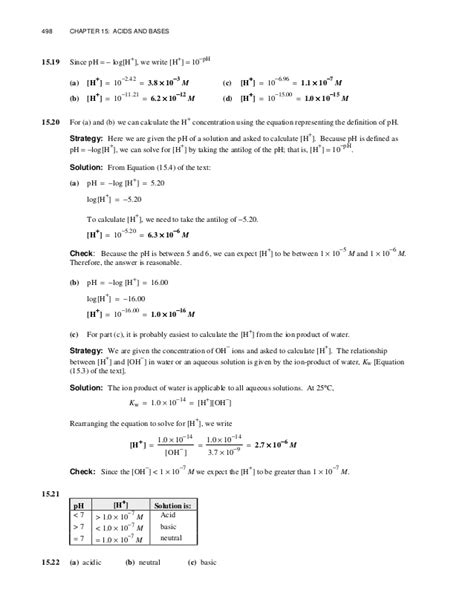 Chapter 15 Physical Science Worksheets And Answers