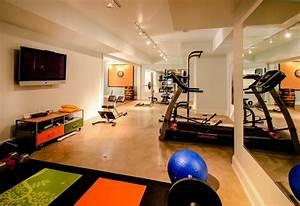 Riverside Basement Renovation - Contemporary - Home Gym ...
