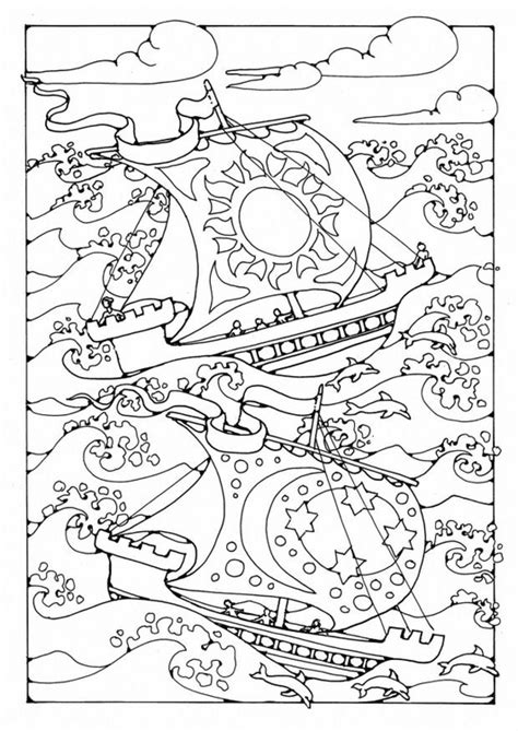Dibujo Barco En Tormenta by Dibujo Para Colorear Barcos En La Tormenta Img 19573