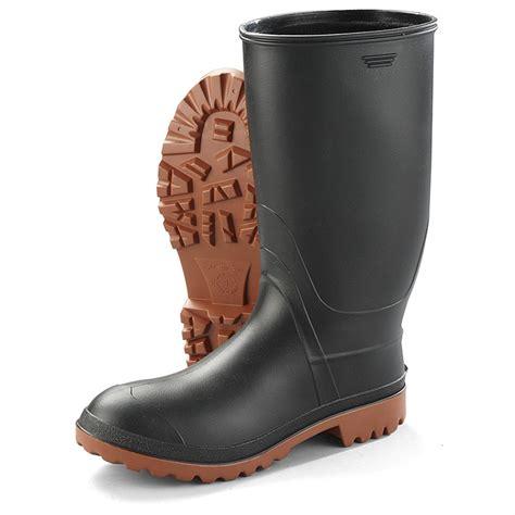Rubber Boot Pics by Kamik Men S Ranger Rubber Boots 622635 Rubber Rain