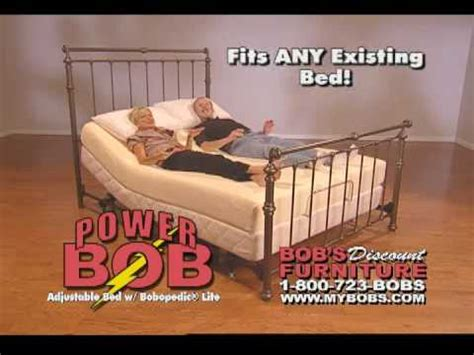 bobs adjustable bed bob s discount furniture commercial bobopedic