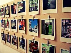 Wand Mit Fotos Dekorieren : polaroid deko zum selbermachen deko ideen mit polaroids ~ Markanthonyermac.com Haus und Dekorationen