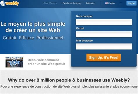 5 ressources pour cr 233 er un site web gratuit autour du web
