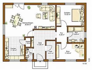 Grundriss Bungalow 100 Qm : hanseatic hausbau in hamburg und niedersachsen wir bauen ihren traum bungalows ~ Markanthonyermac.com Haus und Dekorationen