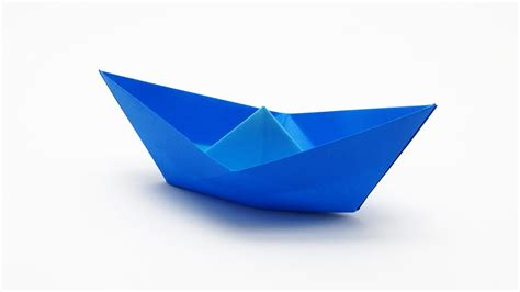 Origami Boat Video traditional origami boat youtube