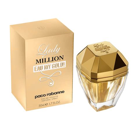paco rabanne million eau my gold eau de toilette