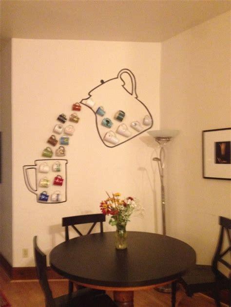 Best 25  Coffee mug display ideas on Pinterest   Under cabinet coffee maker, Hanging mugs and