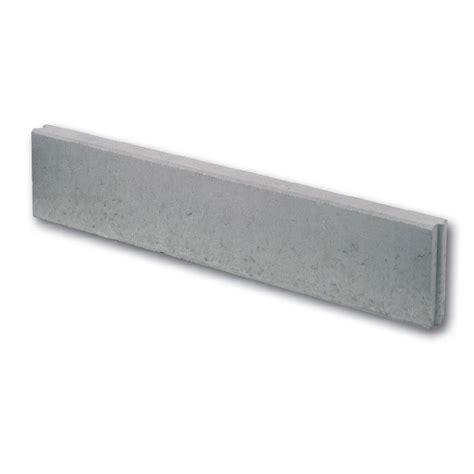 bordure droite b 233 ton gris h 20 x l 100 cm leroy merlin