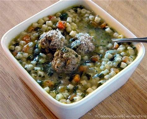 What Is Olive Gardens Wedding Soup Called italian wedding soup cinnamon spice everything