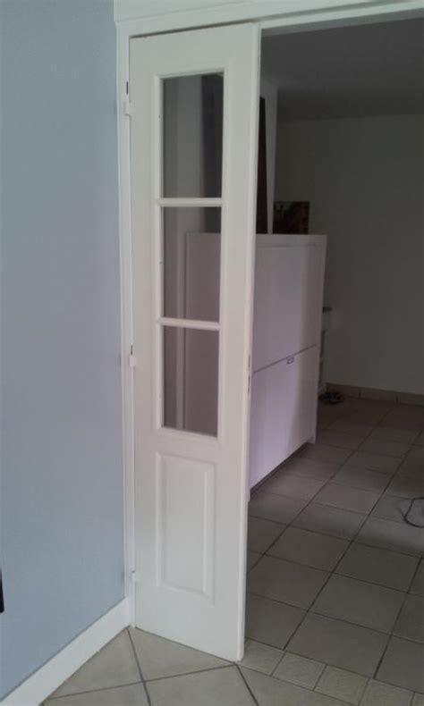 fixation de portes int 233 rieures doubles en bois sur