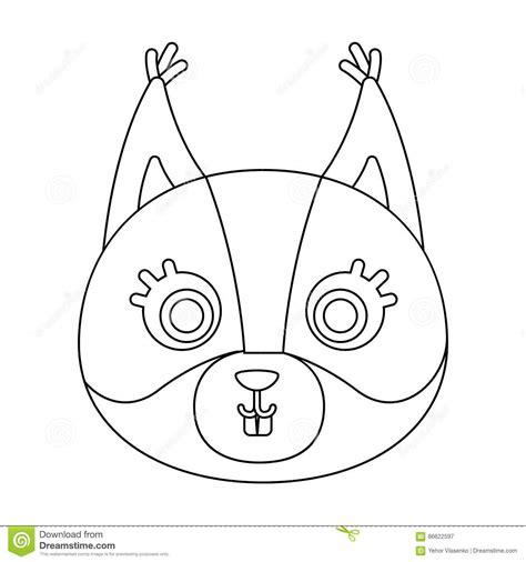 Squirrel Vector Illustration, Isolated On White Background Vector Illustration Cartoondealer