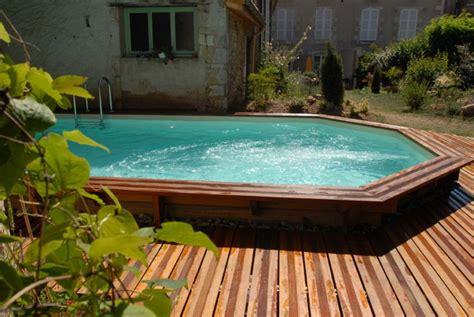 piscine semi enterr 233 e conseils prix installation l 233 gislation