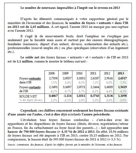 projet de loi de finances pour 2014 les conditions g 233 n 233 rales de l 233 quililbre financier
