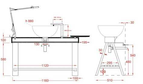 ensemble vasque sur barre c 233 ramique 224 poser cavalletto masalledebaindesign fr