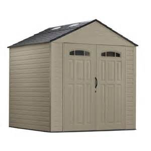 rubbermaid 7x7 roughneck shed home
