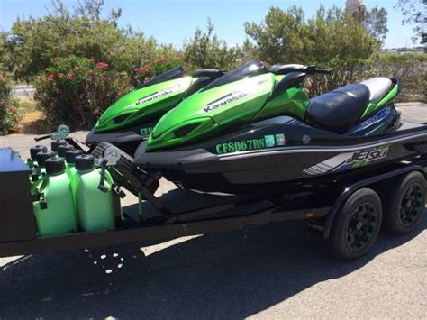 Waterscooter Hayabusa by Deal Of The Day Two 12 Kawasaki Ultra 300x Jet Skis