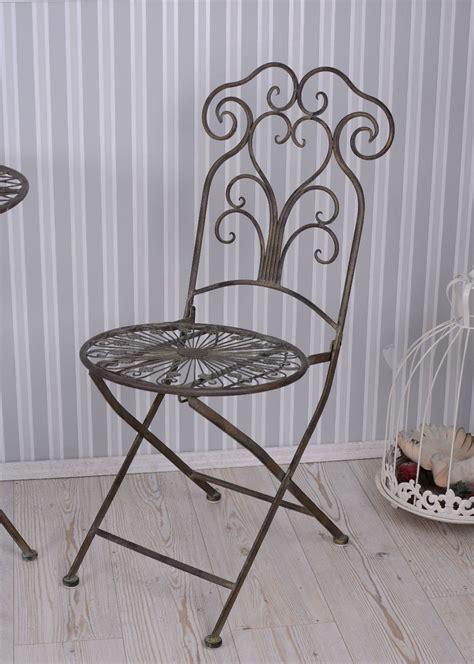 chaise de jardin fer forg 201 chaise en m 201 tal jardin shabby antique chaise ebay