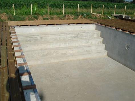 comment construire escalier beton piscine la r 233 ponse est sur admicile fr