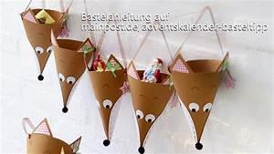 Adventskalender Selber Basteln Für Kinder : freche f chse basteln sie einen adventskalender f r kinder youtube ~ Markanthonyermac.com Haus und Dekorationen