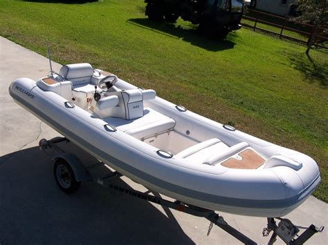 Inflatable Boat Jet by Williams Turbojet 445 15 Feet Rib Inflatable Jet Boat For