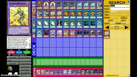 yugioh deck profile feb 2015
