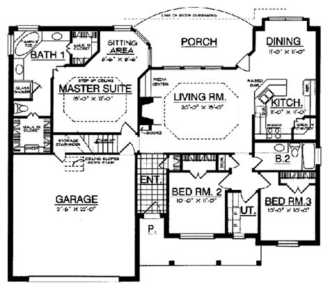 master bedroom with sitting area floor plan master bedroom