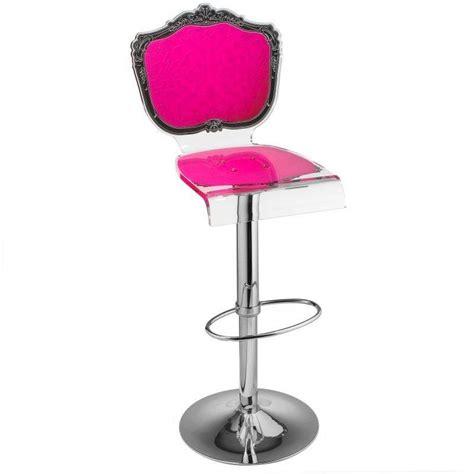 tabouret chaise de bar baroque plexiglass acrila