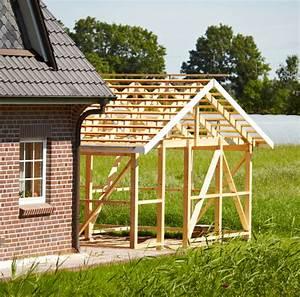 Carport Fundament Größe : carport aus holz selber bauen anleitung in 5 schritten ~ Whattoseeinmadrid.com Haus und Dekorationen