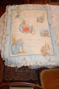 beatrix potter rabbit baby crib bedding set bumpers