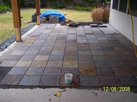 outdoor patio flooring options trim paint and new flooring patio tile install slate patio