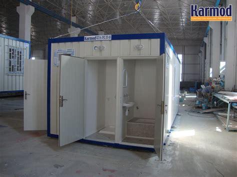 conteneurs de et toilettes portables karmod