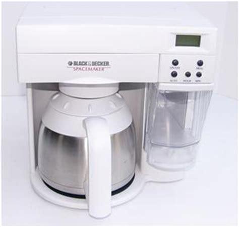 Black Amp Decker Spacemaker Coffee Maker 10 C Program ODC400 Space Saver Thermal   eBay