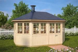 Fass Als Gartenhaus : gartenhaus mit grill albatros 12 m 21mm 3x5 hansagarten24 ~ Markanthonyermac.com Haus und Dekorationen