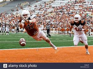 April 18, 2105: Texas Longhorns tight end Andrew Beck (47 ...