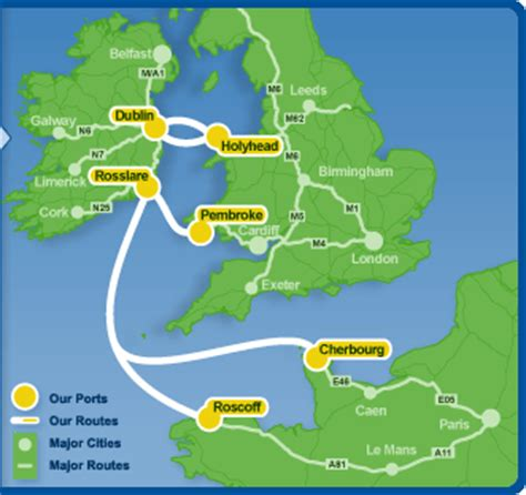Ferry England To Ireland by Ferry To Britain From Ireland Cheap Ferries To Uk