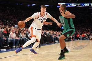 New York Knicks: Kristaps Porzingis Is Still Hanging Out ...