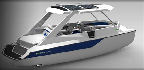 Catamaran Joystick by Infinyte I4 And I8 Solar Electric Hybrid Boats Offer