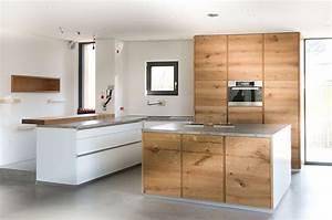 Küche Beton Holz : eiche beton k che k che pinterest k che holz kuchen und holz ~ Markanthonyermac.com Haus und Dekorationen