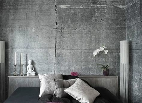 Concrete Wallpapers for An Original Industrial Look by Tom Haga   Freshome.com