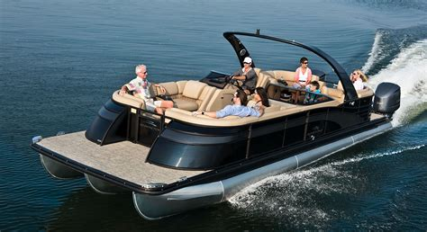 Bay Boat With Twin Engines by Q30 10 Wide Twin Engine Custom Pontoon Boats Guns