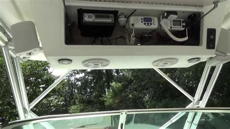 Boat Speakers Without by How To Install Bazooka Marine Speakers In Your Boat